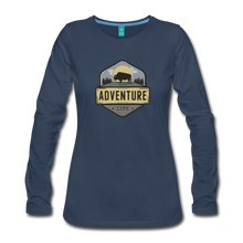 Load image into Gallery viewer, Women's Adventure Life Long Sleeve Shirt - navy