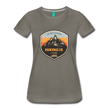 Load image into Gallery viewer, Women's Hiking T-Shirt - asphalt