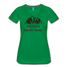 Load image into Gallery viewer, Women's Georgia on my Mind T-Shirt - kelly green
