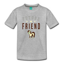 Load image into Gallery viewer, Kids' Future Friend T-Shirt - heather gray