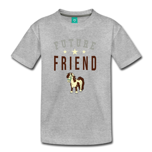 Kids' Future Friend T-Shirt - heather gray