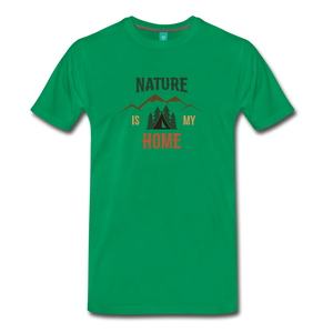 Men's Nature - kelly green
