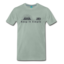 Load image into Gallery viewer, Men's RV Keep It Simple T-Shirt - steel green