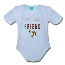 Load image into Gallery viewer, Future Friend Baby Bodysuit - sky
