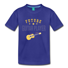 Load image into Gallery viewer, Kids' Guitar Player T-Shirt - royal blue