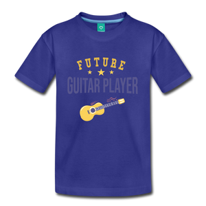 Kids' Guitar Player T-Shirt - royal blue