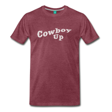 Load image into Gallery viewer, Men's Cowbou Up T-Shirt - heather burgundy