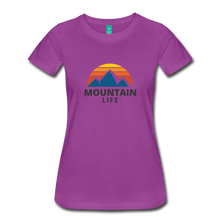Load image into Gallery viewer, Women's Mountain Life Shirt - light purple