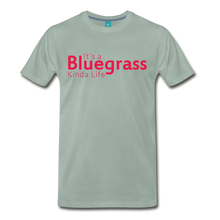Load image into Gallery viewer, Men's Bluegrass Kinda Life T-Shirt - steel green
