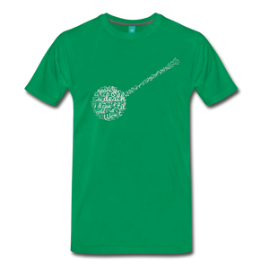 Men's Oh Death T-Shirt - kelly green
