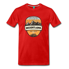 Load image into Gallery viewer, Men's Mountain's Calling T-Shirt - red