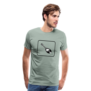 Men's Mandolin Icon T-Shirt - steel green