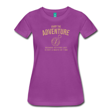 Load image into Gallery viewer, Women's Enjoy the Adventure T-Shirt - light purple