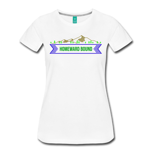Women's Homeward Bound T-Shirt - white