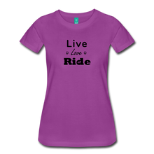 Load image into Gallery viewer, Women's Live Lover Ride T-Shirt - light purple