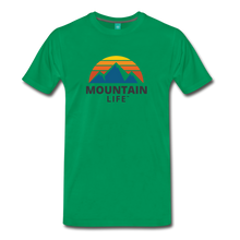 Load image into Gallery viewer, Mountain Life Shirt - kelly green