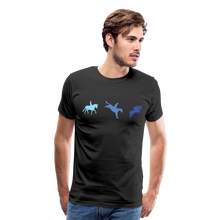 Load image into Gallery viewer, Men's 3-Day Eventing T-Shirt - black