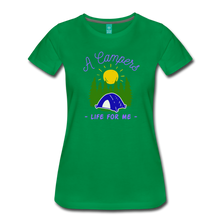 Load image into Gallery viewer, Women's Campers Life T-Shirt - kelly green