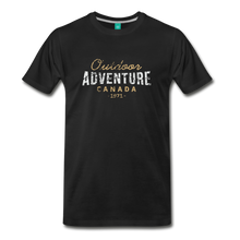 Load image into Gallery viewer, Men's Outdoor Adventure Canada T-Shirt - black