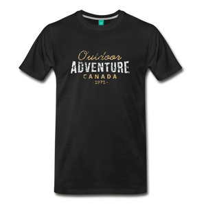 Men's Outdoor Adventure Canada T-Shirt - black