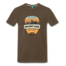 Load image into Gallery viewer, Men's Mountain's Calling T-Shirt - noble brown