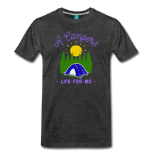 Load image into Gallery viewer, Men's Campers Life T-Shirt - charcoal gray