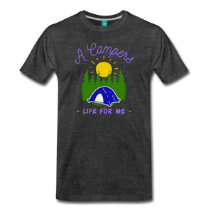 Men's Campers Life T-Shirt - charcoal gray