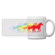 Load image into Gallery viewer, Rainbow Horses Mug - white