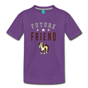 Kids' Future Friend T-Shirt - purple