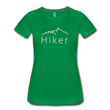 Load image into Gallery viewer, Women's Hiker T-Shirt - kelly green