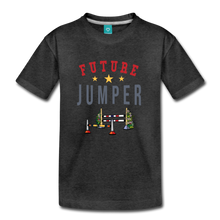 Load image into Gallery viewer, Toddler Future Jumper T-Shirt - charcoal gray