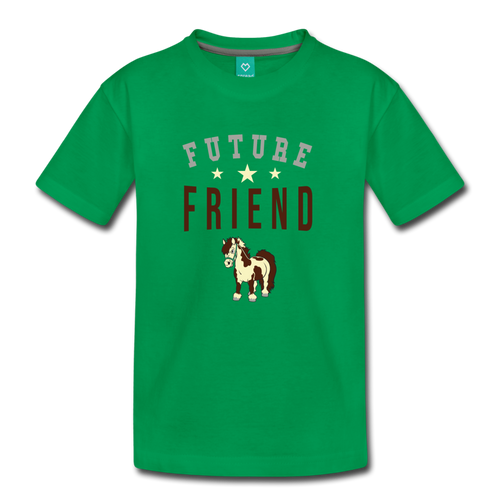 Toddler Future Friend T-Shirt - kelly green