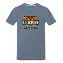 Load image into Gallery viewer, Men's North Lake T-Shirt - steel blue