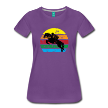 Load image into Gallery viewer, Women's Jumping Sun T-Shirt - purple