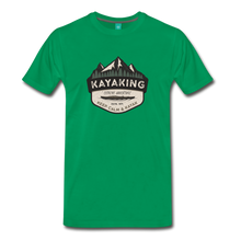 Load image into Gallery viewer, Men's Kayaking T-Shirt - kelly green