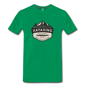 Men's Kayaking T-Shirt - kelly green