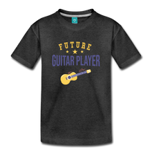 Load image into Gallery viewer, Toddler Guitar Player T-Shirt - charcoal gray