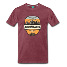 Load image into Gallery viewer, Men's Mountain's Calling T-Shirt - heather burgundy