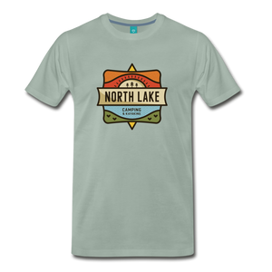 Men's North Lake T-Shirt - steel green