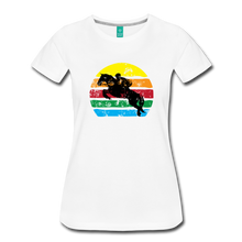 Load image into Gallery viewer, Women's Jumping Sun T-Shirt - white