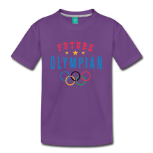 Load image into Gallery viewer, Kids' Future Olympian T-Shirt - purple