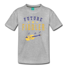 Load image into Gallery viewer, Kids' Future Fiddler T-Shirt - heather gray