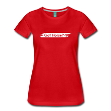 Load image into Gallery viewer, Women's Got Horse T-Shirt - red