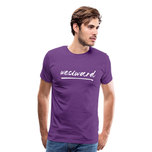 Men's Westward T-Shirt - purple