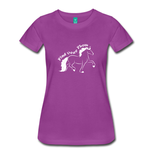 Women's Find Your Flow T-Shirt - light purple
