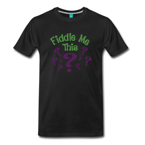 Men's Fiddle Me This T-Shirt - black