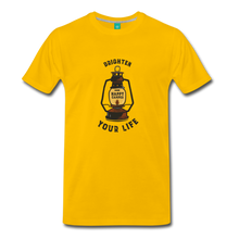 Load image into Gallery viewer, Men's Lantern T-Shirt - sun yellow