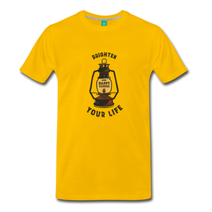 Men's Lantern T-Shirt - sun yellow