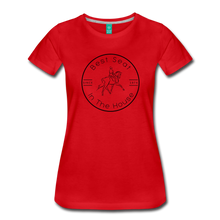 Load image into Gallery viewer, Women's Best Seat in the House T-Shirt - red