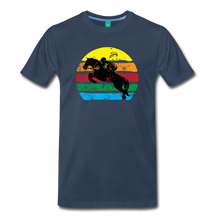 Load image into Gallery viewer, Men's Jumping Sun T-Shirt - navy